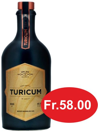 Gin Turicum Wood Barrel