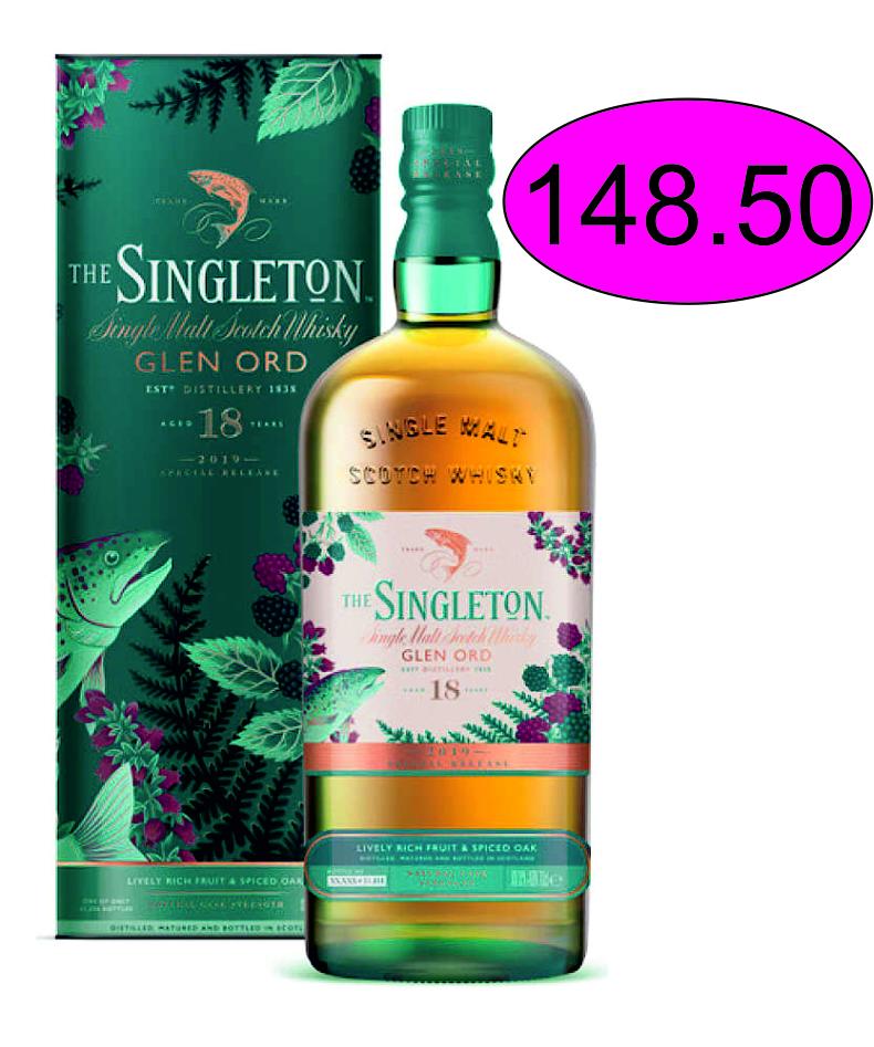 Singleton of Glen Ord 18 Y Special Rel. 19