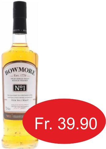 Bowmore No1